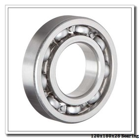 120 mm x 180 mm x 28 mm  SKF 6024N deep groove ball bearings
