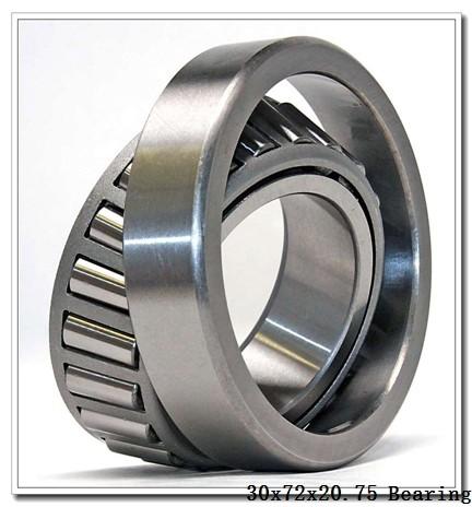 30 mm x 72 mm x 19 mm  NTN 4T-30306CA tapered roller bearings
