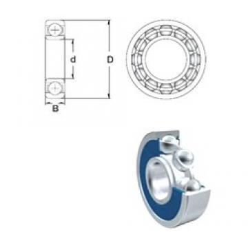 15 mm x 42 mm x 13 mm  ZEN S6302-2RS deep groove ball bearings