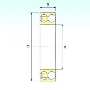 15 mm x 42 mm x 13 mm  ISB 1302 TN9 self aligning ball bearings