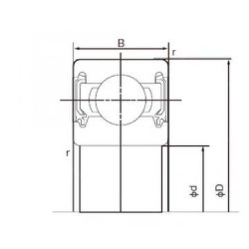 15 mm x 42 mm x 13 mm  NACHI 6302-2NKE9 deep groove ball bearings