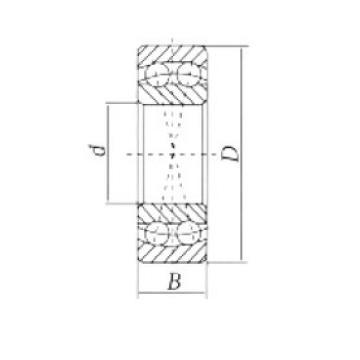 65 mm x 120 mm x 23 mm  Loyal 1213 self aligning ball bearings