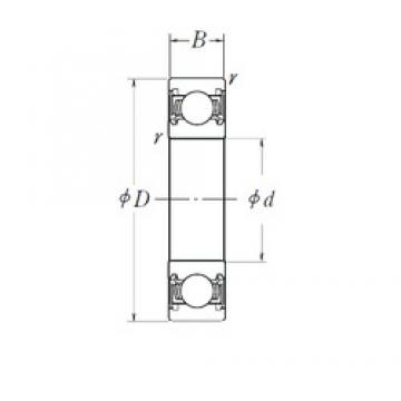 50 mm x 110 mm x 27 mm  NSK 6310DDU deep groove ball bearings