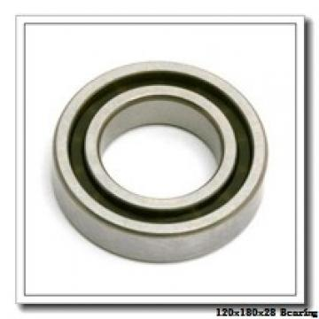 120 mm x 180 mm x 28 mm  NSK 120BNR10S angular contact ball bearings