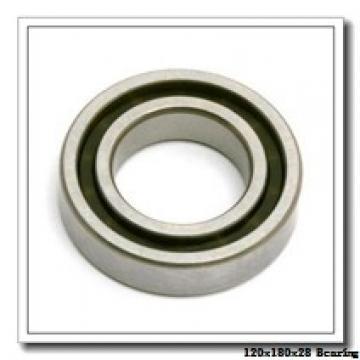 120 mm x 180 mm x 28 mm  NTN 7024DT angular contact ball bearings