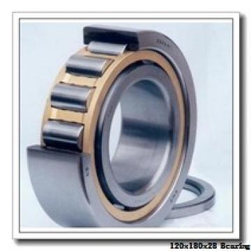 120 mm x 180 mm x 28 mm  NSK QJ 1024 angular contact ball bearings