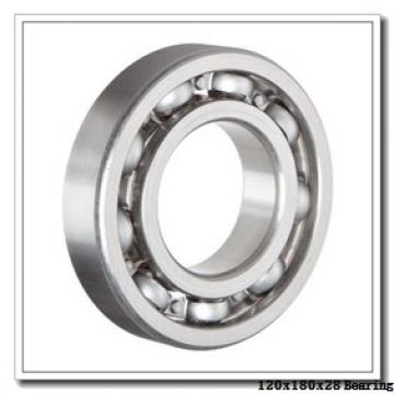 120 mm x 180 mm x 28 mm  NACHI 7024DT angular contact ball bearings