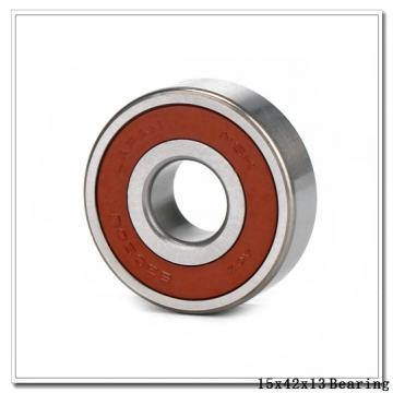 15 mm x 42 mm x 13 mm  Loyal 6302 deep groove ball bearings