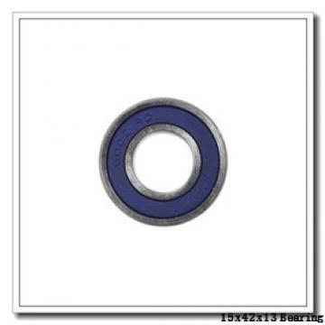 15 mm x 42 mm x 13 mm  PFI 6302-ZZ NR C3 deep groove ball bearings