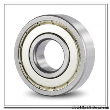 15 mm x 42 mm x 13 mm  NACHI 7302 angular contact ball bearings
