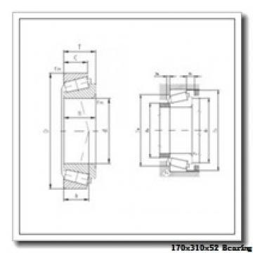 170 mm x 310 mm x 52 mm  ISO 20234 spherical roller bearings