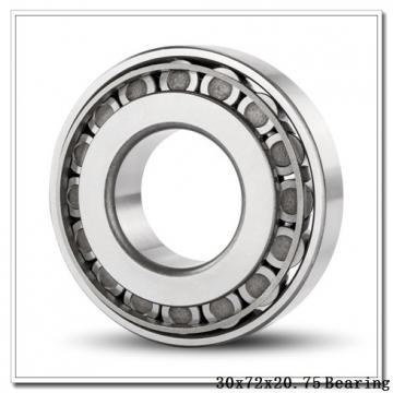 30 mm x 72 mm x 19 mm  NTN 30306D tapered roller bearings