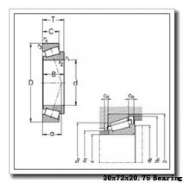PFI 30306D tapered roller bearings
