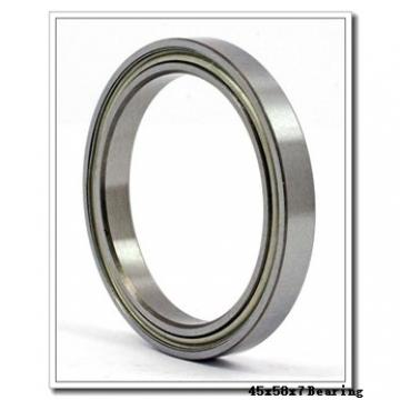 45 mm x 58 mm x 7 mm  ISO 61809 ZZ deep groove ball bearings