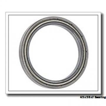 45 mm x 58 mm x 7 mm  FBJ 6809-2RS deep groove ball bearings
