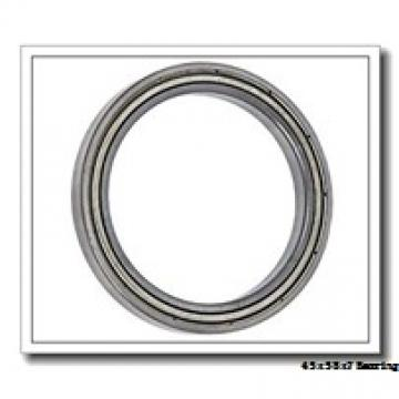 45 mm x 58 mm x 7 mm  ZEN 61809 deep groove ball bearings