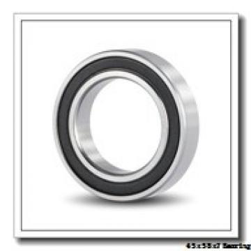 45 mm x 58 mm x 7 mm  ISB SS 61809 deep groove ball bearings