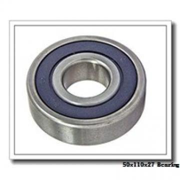 50 mm x 110 mm x 27 mm  NACHI 7310 angular contact ball bearings