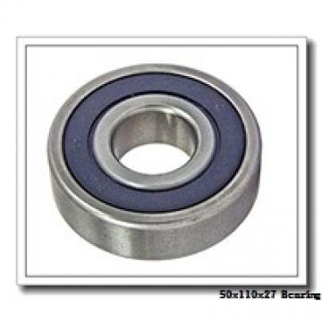 50 mm x 110 mm x 27 mm  NACHI 7310CDB angular contact ball bearings