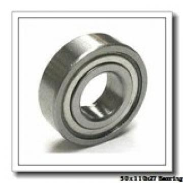 50 mm x 110 mm x 27 mm  NTN 7310 angular contact ball bearings