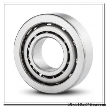 50 mm x 110 mm x 27 mm  NACHI 7310BDB angular contact ball bearings