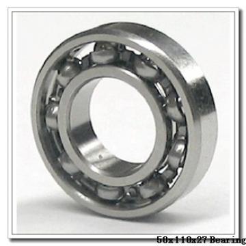 50 mm x 110 mm x 27 mm  NTN 7310DT angular contact ball bearings