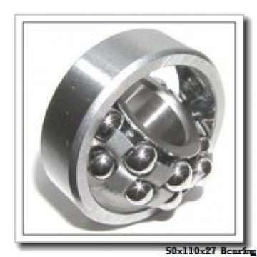 50 mm x 110 mm x 27 mm  FBJ NJ310 cylindrical roller bearings