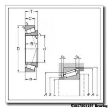 530 mm x 780 mm x 185 mm  NKE 230/530-K-MB-W33+OH30/530-H spherical roller bearings