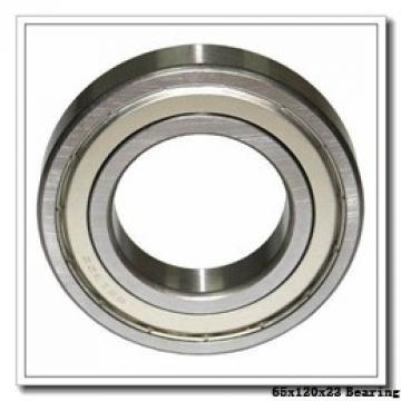 65 mm x 120 mm x 23 mm  NKE QJ213-MPA angular contact ball bearings