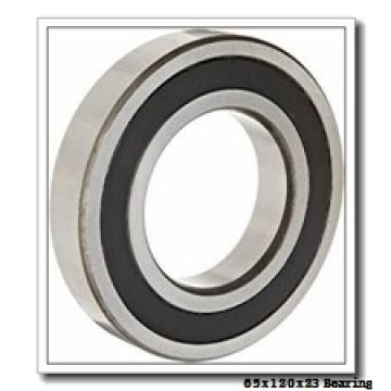 65 mm x 120 mm x 23 mm  KOYO NF213 cylindrical roller bearings