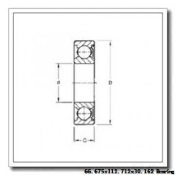66,675 mm x 112,712 mm x 30,162 mm  NTN 4T-39590/39520 tapered roller bearings
