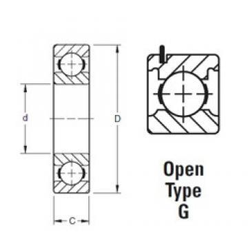 120 mm x 180 mm x 28 mm  Timken 9124KG deep groove ball bearings