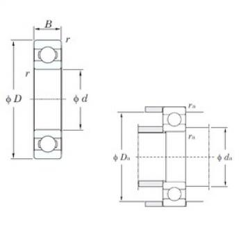 15 mm x 42 mm x 13 mm  KOYO 6302 deep groove ball bearings