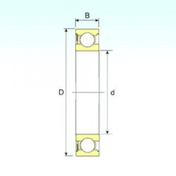 120 mm x 180 mm x 28 mm  ISB 6024-RS deep groove ball bearings