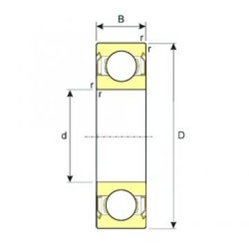 50 mm x 110 mm x 27 mm  ISB 6310-ZZ deep groove ball bearings