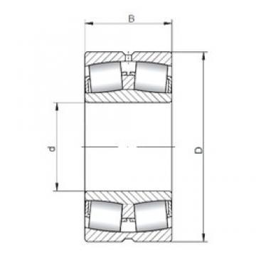 190 mm x 340 mm x 92 mm  Loyal 22238 CW33 spherical roller bearings