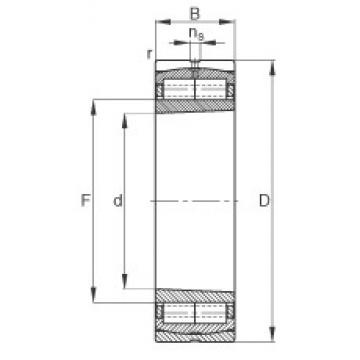 190 mm x 340 mm x 92 mm  FAG Z-566170.ZL-K-C3 cylindrical roller bearings