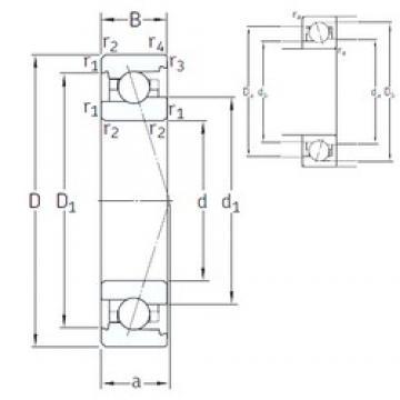 120 mm x 180 mm x 28 mm  SNFA VEX 120 7CE1 angular contact ball bearings