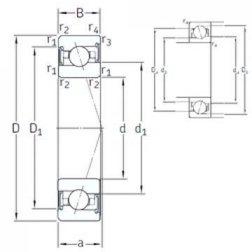 120 mm x 180 mm x 28 mm  SNFA VEX 120 /S/NS 7CE1 angular contact ball bearings