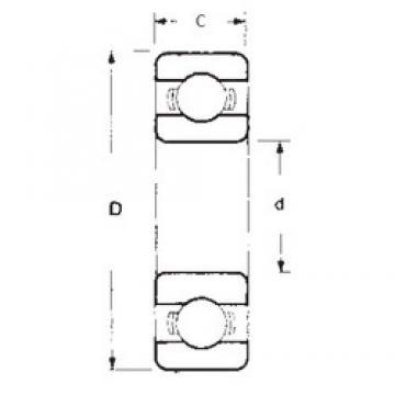 45 mm x 58 mm x 7 mm  FBJ 6809 deep groove ball bearings