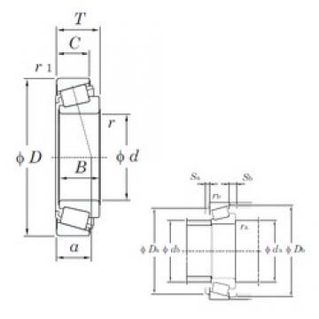 30 mm x 72 mm x 19 mm  KOYO HC TRA0607 tapered roller bearings