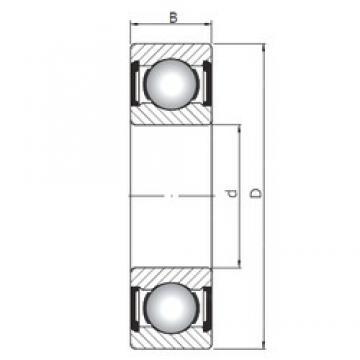 120 mm x 180 mm x 28 mm  ISO 6024 ZZ deep groove ball bearings