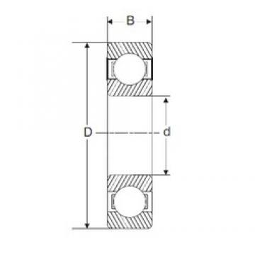 50 mm x 110 mm x 27 mm  SIGMA 6310 deep groove ball bearings