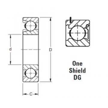 50 mm x 110 mm x 27 mm  Timken 310WDG deep groove ball bearings