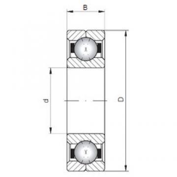 Loyal Q234 angular contact ball bearings