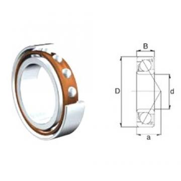 15 mm x 42 mm x 13 mm  ZEN 7302B-2RS angular contact ball bearings