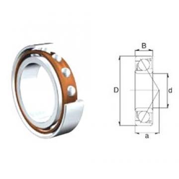 50 mm x 110 mm x 27 mm  ZEN S7310B angular contact ball bearings