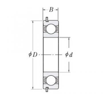 45 mm x 58 mm x 7 mm  CYSD 6809NR deep groove ball bearings