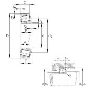 66,675 mm x 112,712 mm x 30,048 mm  FAG K3984-3920 tapered roller bearings