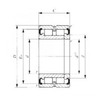 80 mm x 110 mm x 30 mm  IKO NAG 4916UU cylindrical roller bearings